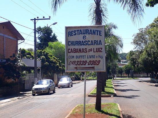 Restaurante do Luiz: Entrada