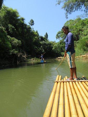 radeau bambou