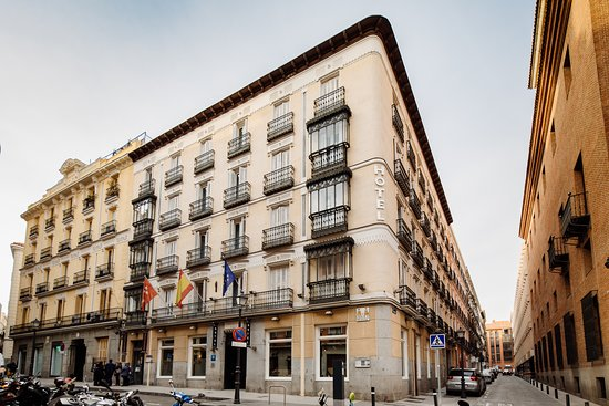 Fachada del Hotel Lusso Infantas