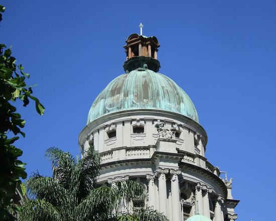 Durban City Hall: Top of building