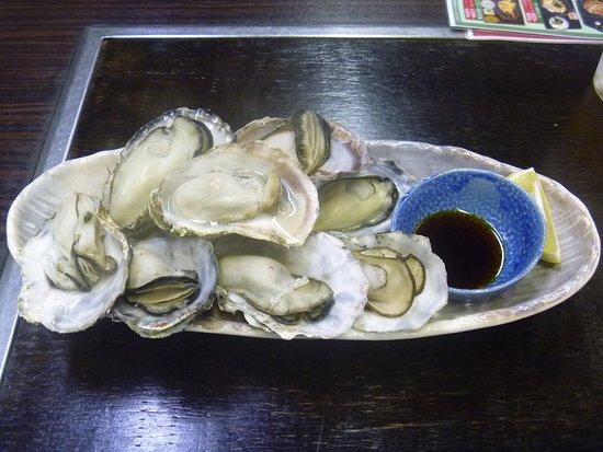 Restaurant Yudachi: 蒸し牡蠣