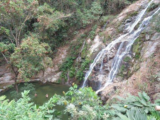 Minca, Colombia: The falls