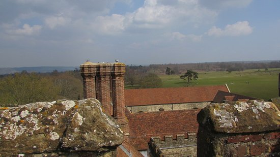 Knole - National Trust: Beautiful Kent countryside in the distance