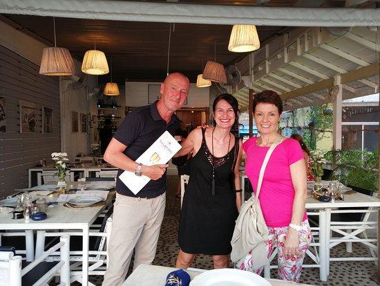Salefino Koh Samui: con Oliver e Camilla