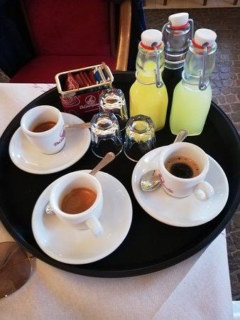 caffè e amari/digestivi