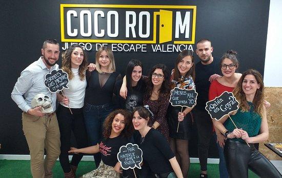 Coco Room Valencia Room Escape: Combate de Goya