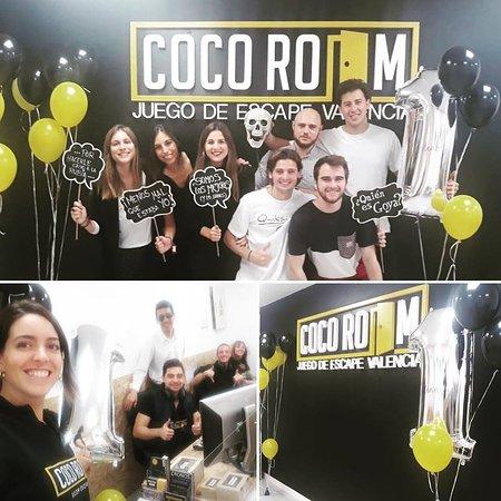 Coco Room Valencia Room Escape: 1º Aniversario CocoRoom