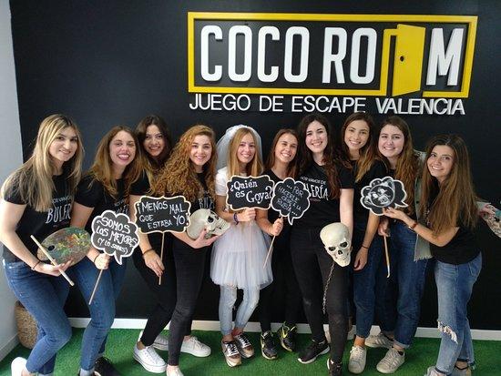 Coco Room Valencia Room Escape: Despedida de soltera
