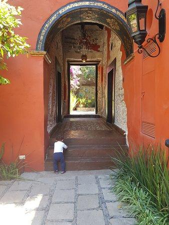 Villa Zacateros Luxury Historic: Patio