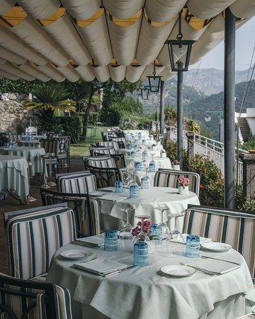 The Belvedere Restaurant's terrace