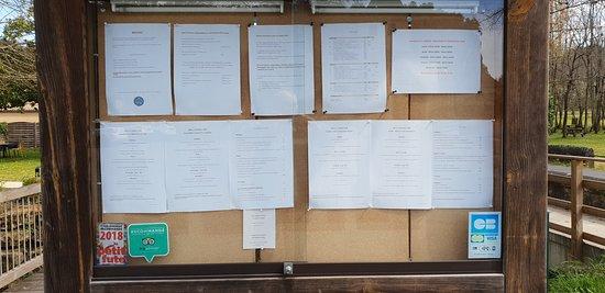 O Moulin: Affichage des menus