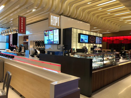 Rivers Casino and Resort - food court area