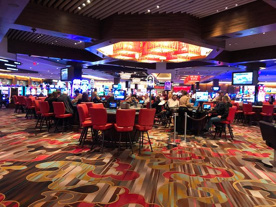Rivers Casino and Resort - table games area