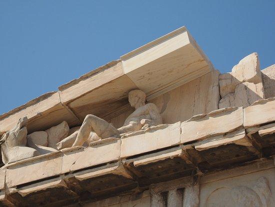 Athény, Řecko: 上部の像