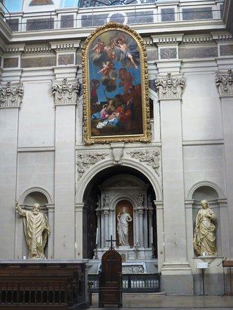 Église Saint-Polycarpe: L'altare del transetto dx