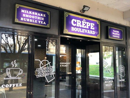 Restaurant Crêpe Boulevard à Poissy.