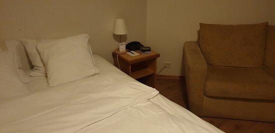 Fint hotell med god beligggenhet og standard
