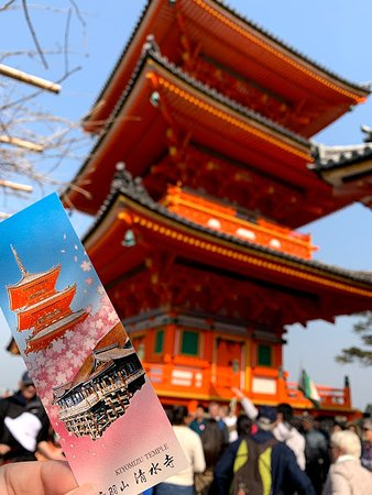 Kyoto Cultural Forest, Shrine and Temple Tour with Options: Kiyomizu-dera Temple
