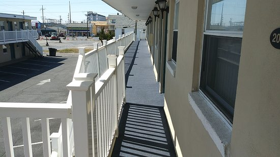 We have updated our walkways!