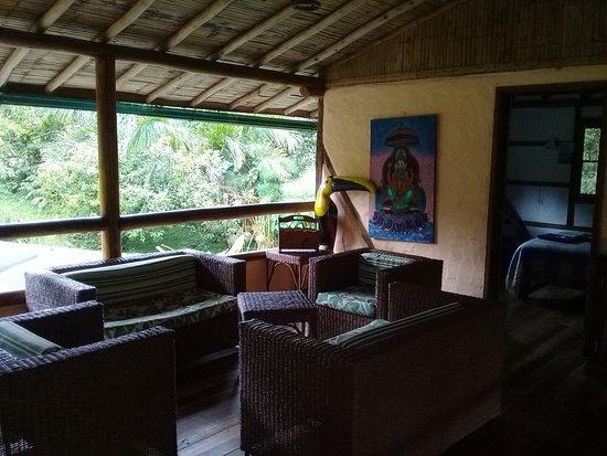 Mindo, Ecuador: Areas de la casa grande
