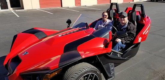 Hoover Dam bound with SinCity Moto