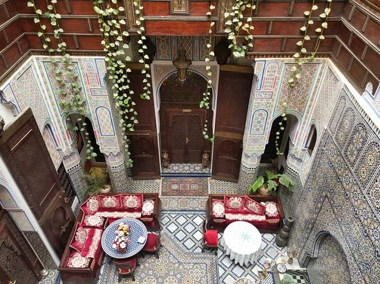 The wonderful Riad Rcif in Fes.......