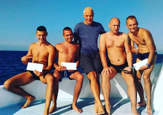 PADI OWD divers Hurghada