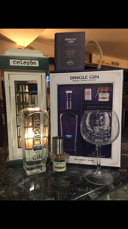 Full selection of Dingle Distillery produces