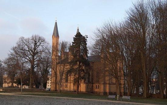Neustrelitz, Németország: la Stadtkirche (Iglesia de la Ciudad), construida entre 1768-1778