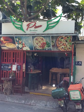 Pizza station just next Door  Pizza oven Fire wood and mini bar with Drought Beer  Inside  Very big place named Underground Tavern  Pool table games Liquor  Fantastic for Private Parties  PS Every Thursday Pizza Buffet  150k Adult 50k Children  All can eat So cosy
