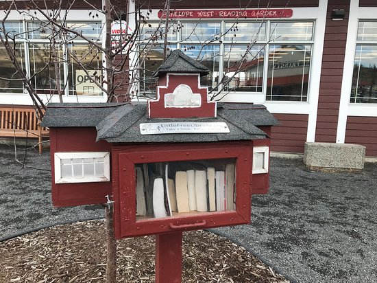 Outdoor book exchange