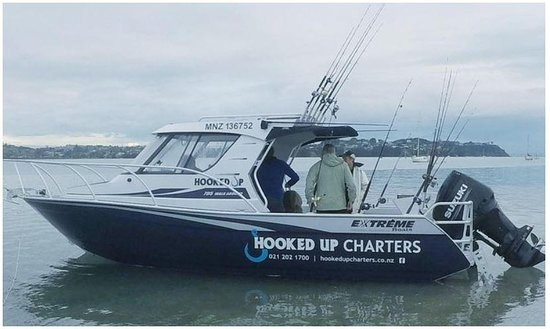 Hooked Up Charters NZ