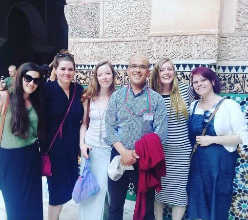 Marrakech Tour Guide Ali: In the coranic school with Ali guide tour