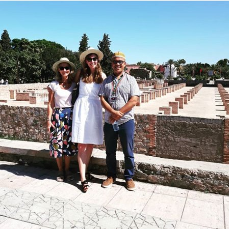 Marrakech Tour Guide Ali: Happy Ladies with Ali guide tour