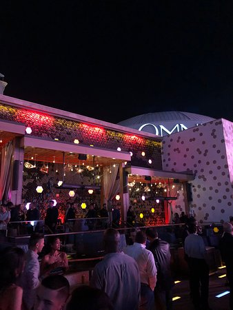 Omnia: Outside viewing deck, nice outlook to city