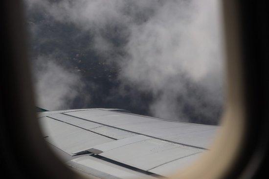 Air Canada: Some clouds