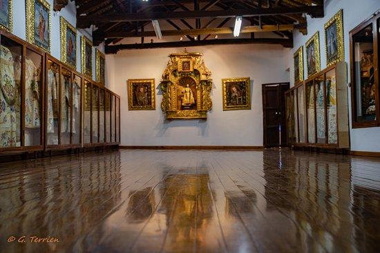 Una de las salas del museo adonde se puede ver cosas hechas por las hermanas