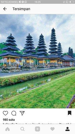 Tanah Lot, Indonézia: taman ayun Temple,,🙏