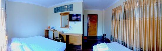 Nyaungshwe, Myanmar: guest room