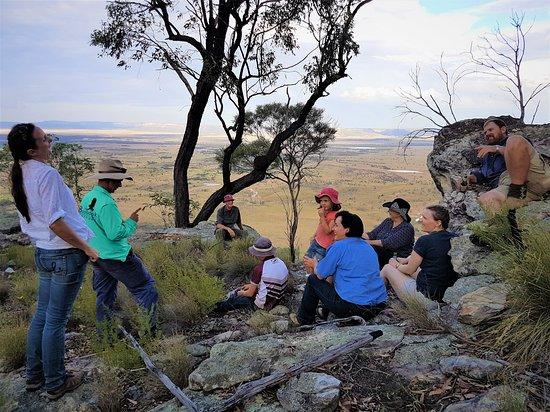 Roma, Australia: Arcadia Valley Lookout on Wallaroo