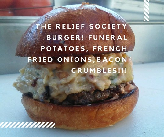 Capitol Burger: Relief Society Burger