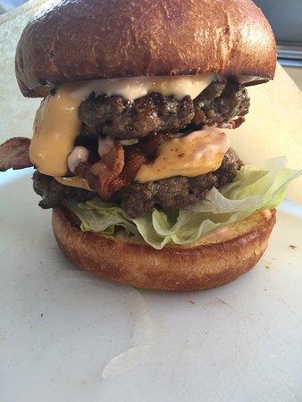 Capitol Burger: Double bacon cheeseburger