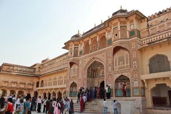 Dagstur til Jaipur fra Delhi med tog