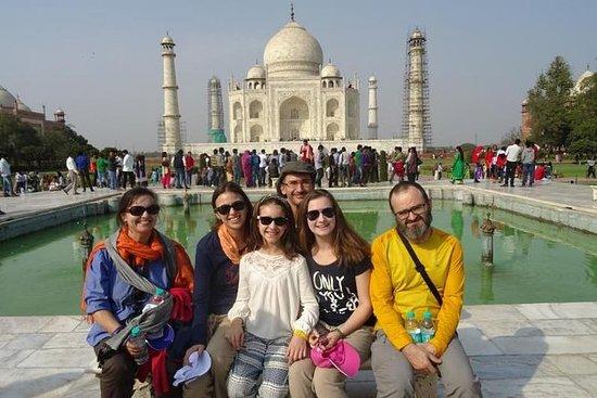 Taj Mahal Agra samme dagstur fra Delhi