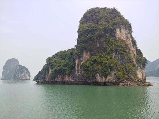Deluxe-dobbeltværelse eller 2-personersværelse med havudsigt: Ha Long Bay