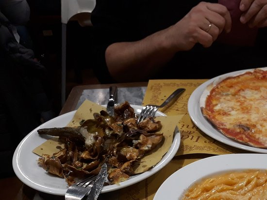 Ristorante Navona Notte: Ужин