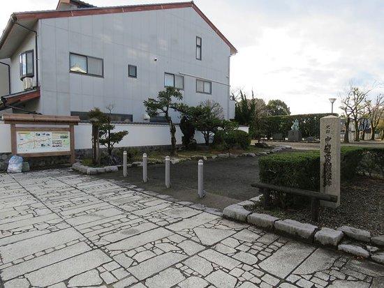 赤坂本陣跡の公園