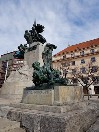 Impressive monument
