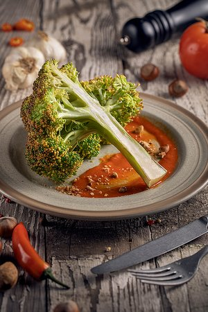 ბროკოლის სტეიკი/Broccoli Steak