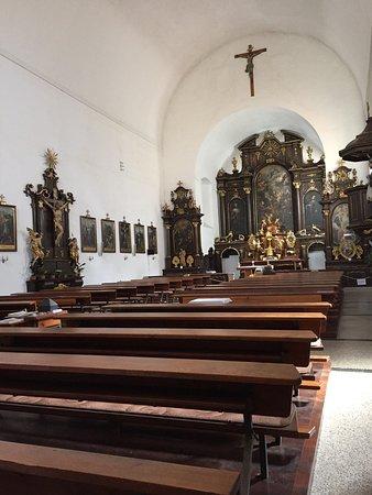 Kostel Svateho Josefa: 教会の内部